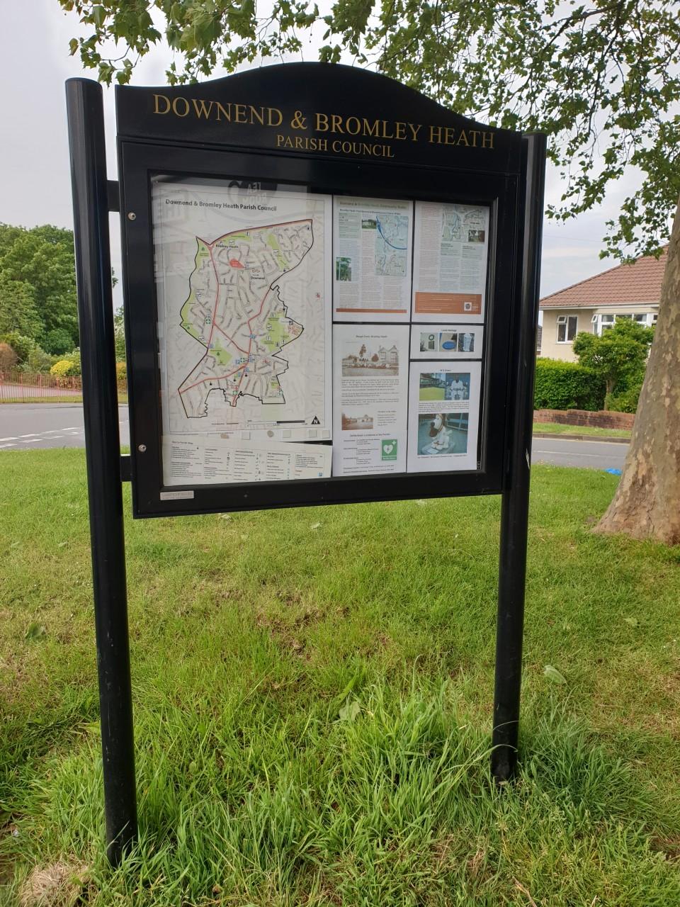 Parish Sign Posts