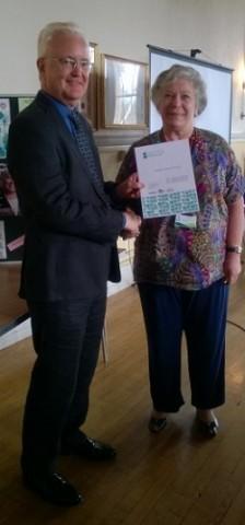 May 2016 Parish Council receives award in National Scheme