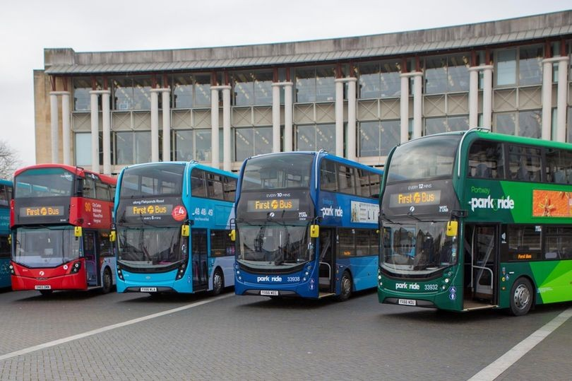First Bus timetable in Bristol region changing from today 29 August 2021